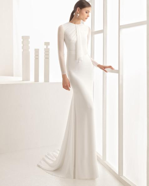 Neser vestido de novia Rosa Clará 2017