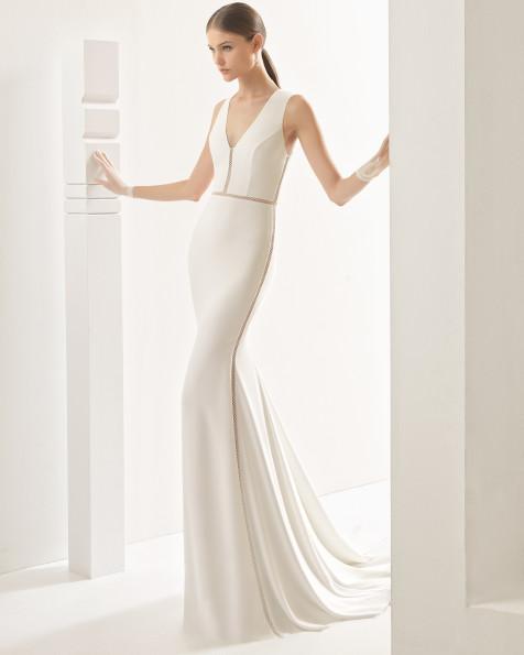 Nevada vestido de novia Rosa Clará 2017