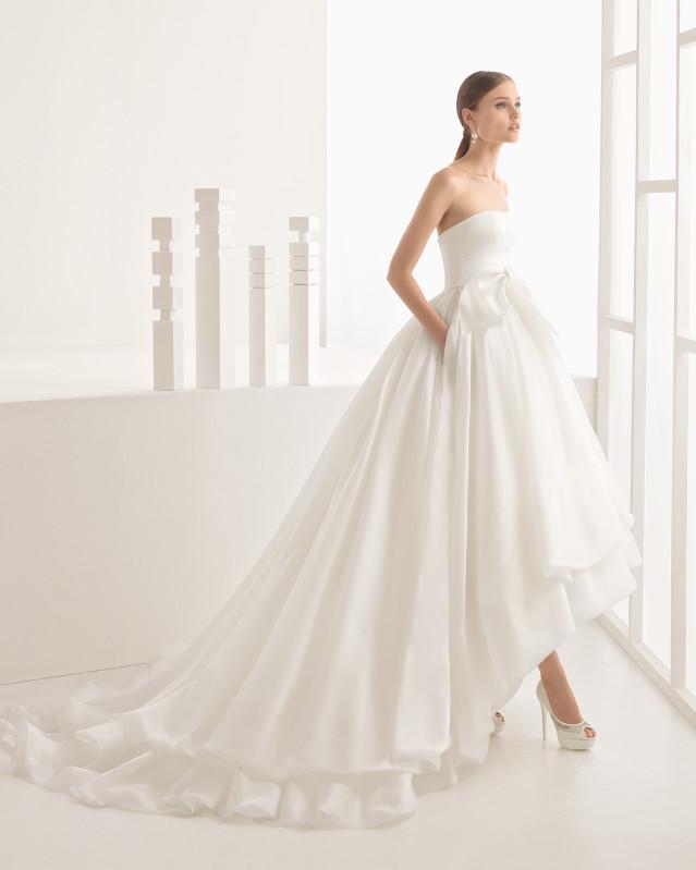 Nevin vestido de novia Rosa Clará 2017