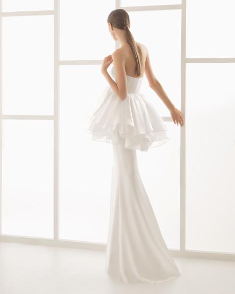 Niara vestido de novia Rosa Clará 2017