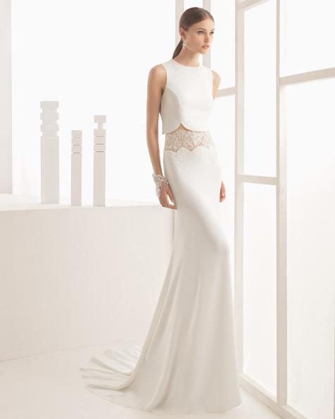 Nicea vestido de novia Rosa Clará 2017