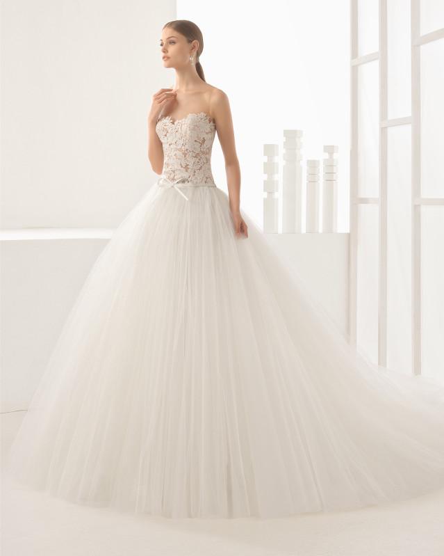 Nieves vestido de novia Rosa Clará 2017