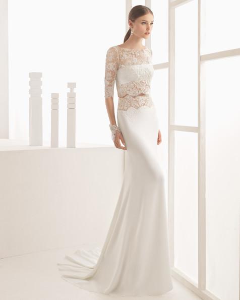 Nil vestido de novia Rosa Clará 2017