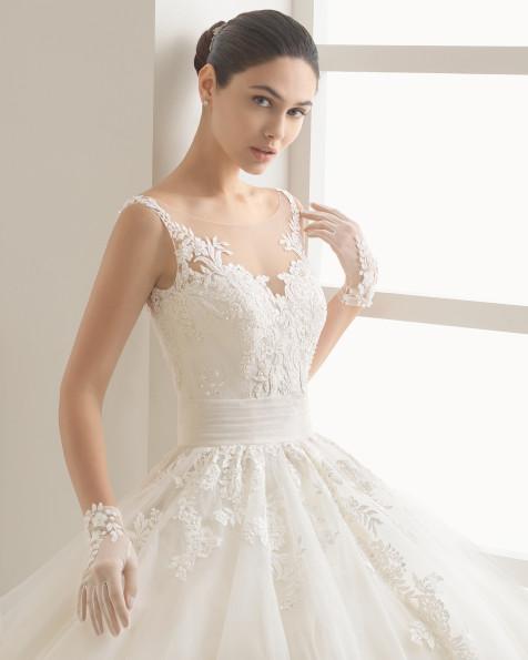 OCULTO vestido de novia Rosa Clará Two 2017
