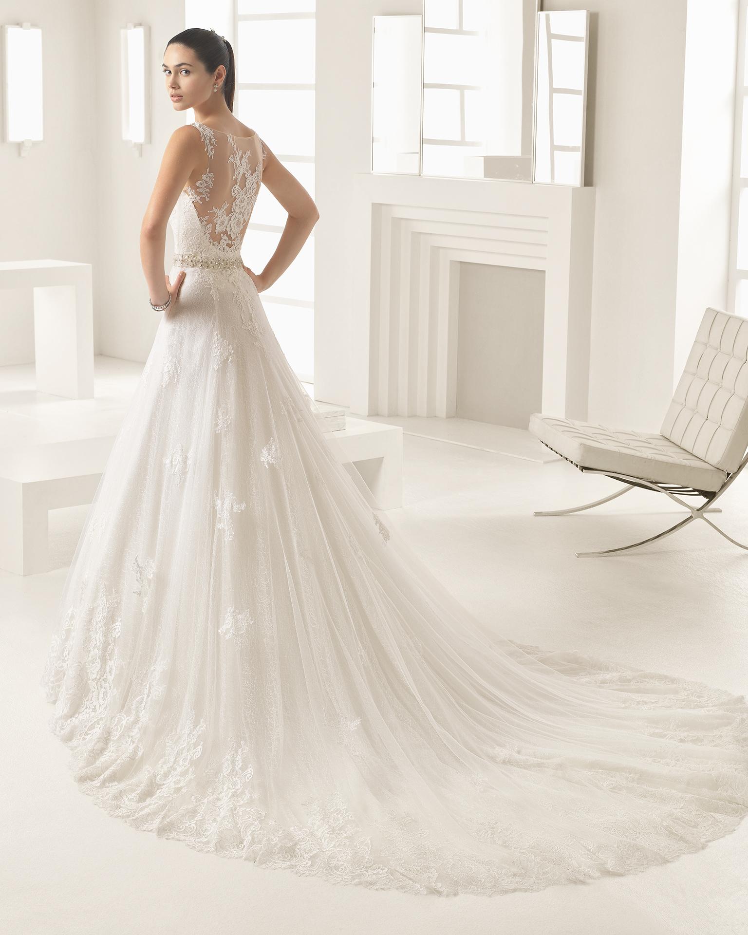 oden 2017 bridal collection rosa clar two. Black Bedroom Furniture Sets. Home Design Ideas
