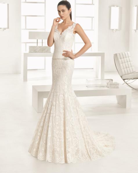 OESTE vestido de novia Rosa Clará Two 2017