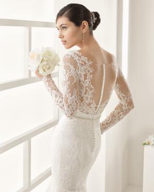 OHIO traje de novia en color natural