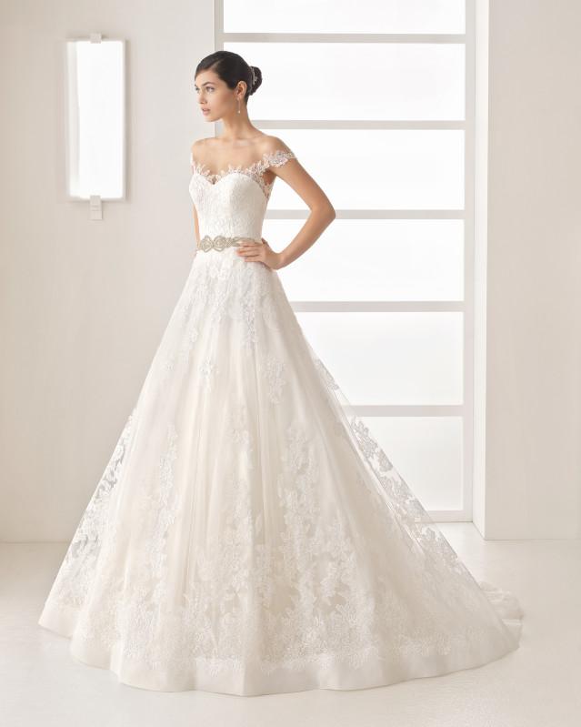 OLESA vestido de novia Rosa Clará Two 2017