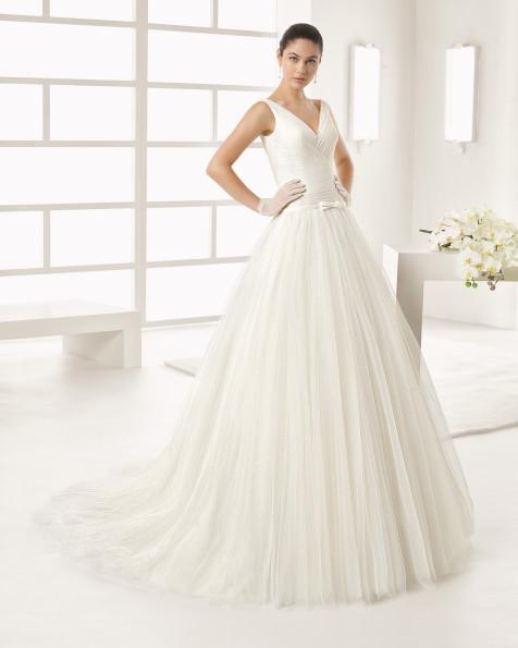 OLIVER vestido de novia Rosa Clará Two 2017