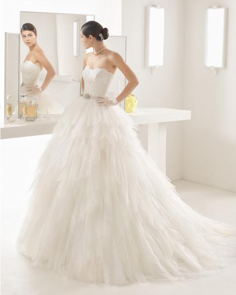 ONA vestido de novia Rosa Clará Two 2017