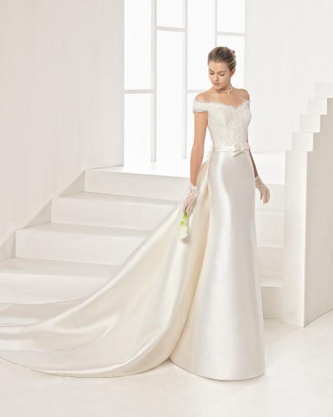 ORIENTE vestido de novia Rosa Clará Two 2017