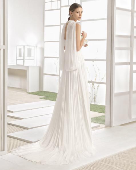 WAGNER vestido de novia Rosa Clará Soft 2017