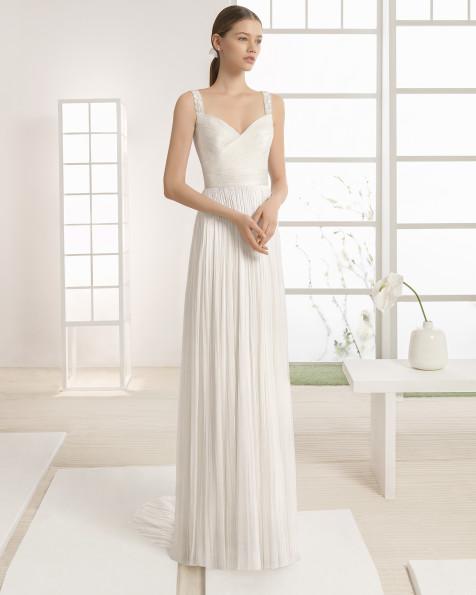 WALDO vestido de novia Rosa Clará Soft 2017