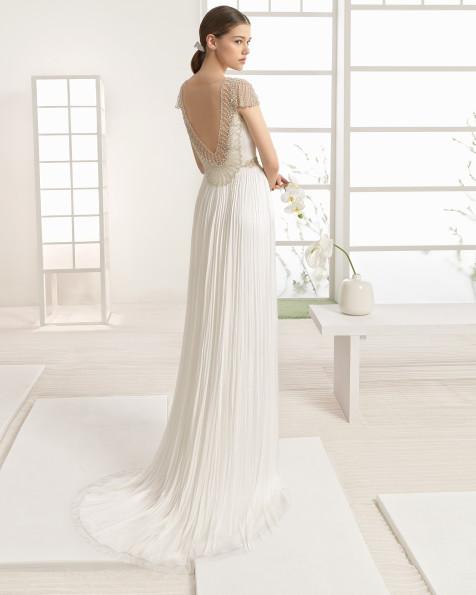 WALRAM vestido de novia Rosa Clará Soft 2017
