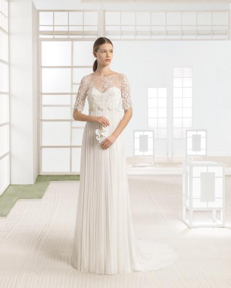 WALTER vestido de novia Rosa Clará Soft 2017