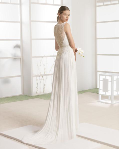 WAMAN vestido de novia Rosa Clará Soft 2017