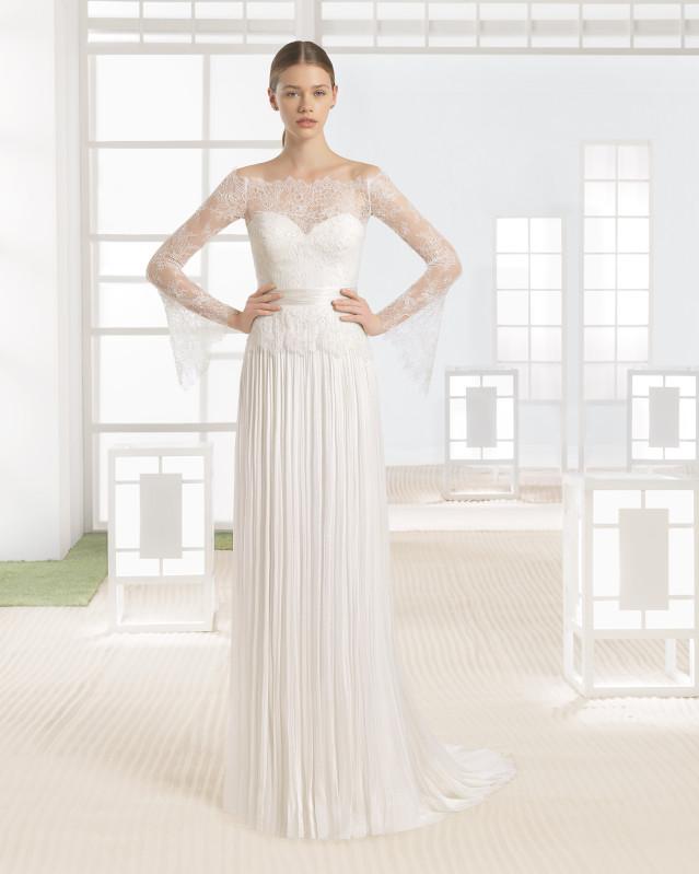 WANIA vestido de novia Rosa Clará Soft Soft 2017