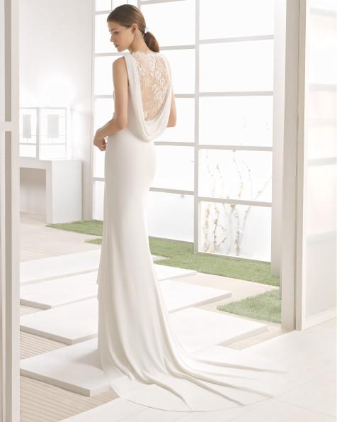 WAREIN vestido de novia Rosa Clará Soft 2017