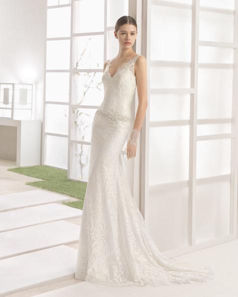 WAYNA vestido de novia Rosa Clará Soft 2017