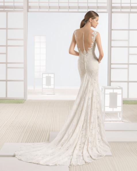 WAZIR vestido de novia Rosa Clará Soft 2017