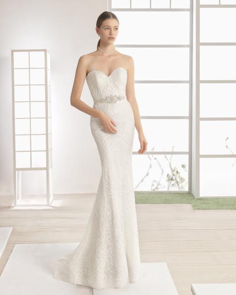 WEBER vestido de novia Rosa Clará Soft 2017