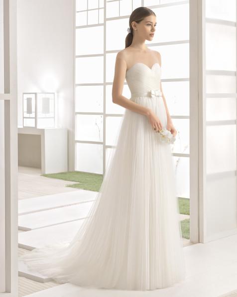 WESLEY vestido de novia Rosa Clará Soft 2017