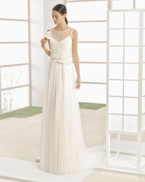 WESTERN vestido de novia Rosa Clará Soft 2017