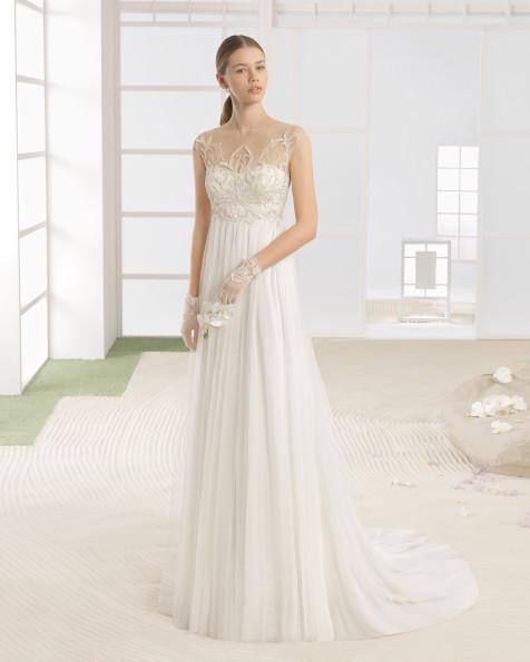 WHITNEY vestido de novia Rosa Clará Soft 2017
