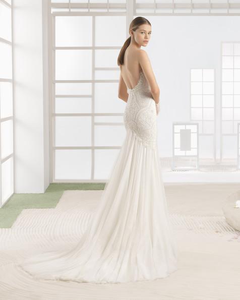 WILKA vestido de novia Rosa Clará Soft 2017