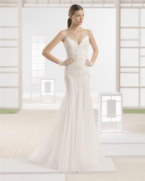 WIRE vestido de novia Rosa Clará Soft 2017