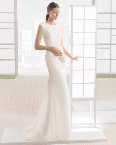 WONKA vestido de novia Rosa Clará Soft 2017