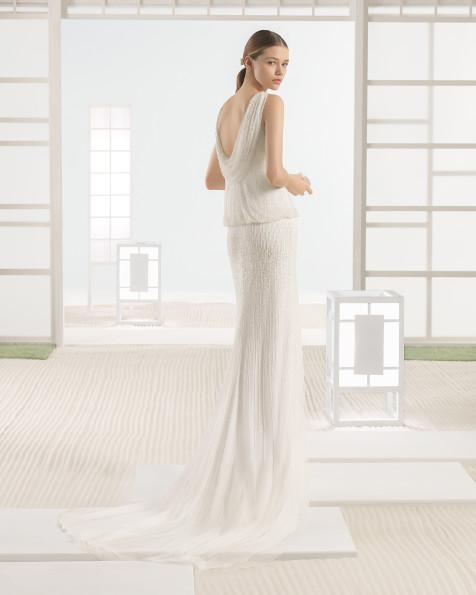 WYNET vestido de novia Rosa Clará Soft 2017