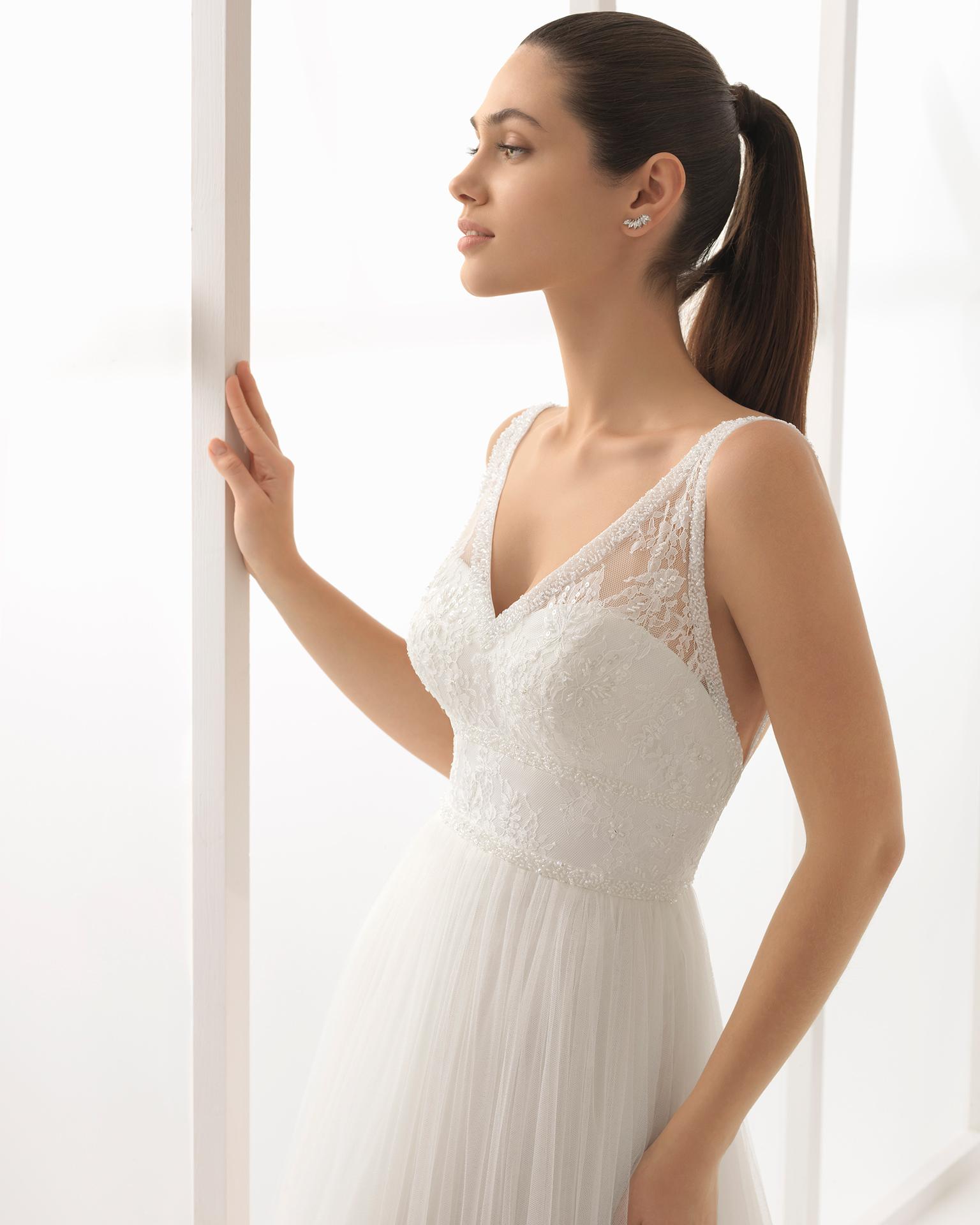 lisa 2018 bridal collection rosa clará soft collection