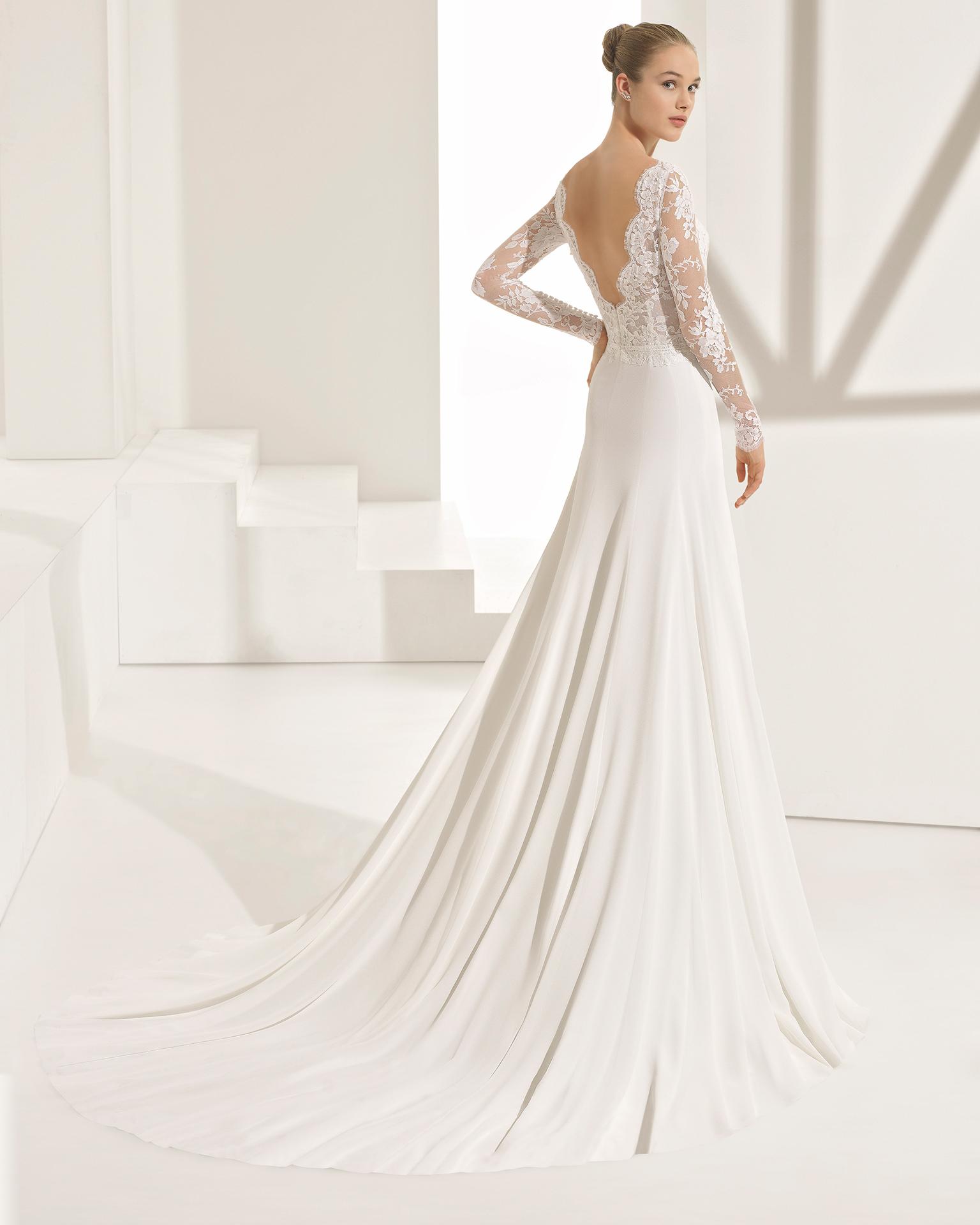 PASCAL - sposa 2018. Collezione Rosa Clará Couture 7f1837eb682