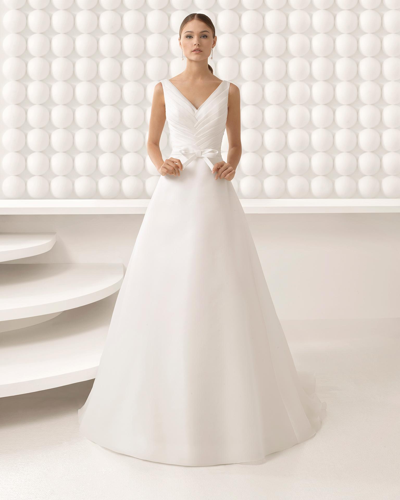 Precio vestido de novia rosa clara