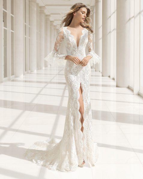 vestido de novio 2018