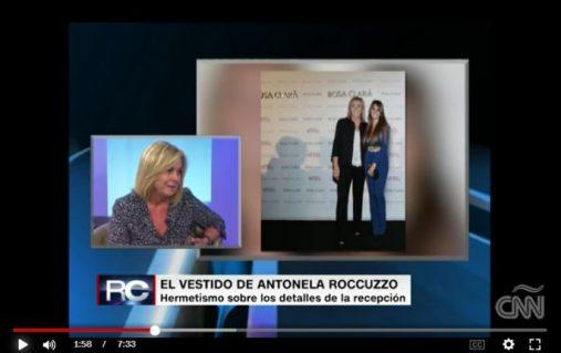 Rosa Clará concede una entrevista a la CNN a escasas horas de la boda