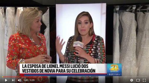 Despierta América entrevista a Rosa Clará con motivo de la boda de Antonela Roccuzzo y Leo Messi