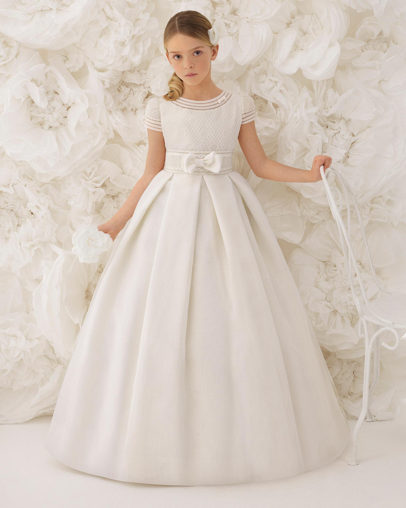 Vestidos de comunion de rosa clara 2019 precios