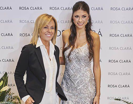 La diseñadora Rosa Clará inaugura nueva tienda en Murcia junto a Linda Morselli