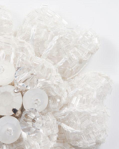 Horquilla de pedrería, 2uds en color plata. Colección ROSA CLARA COUTURE 2019.