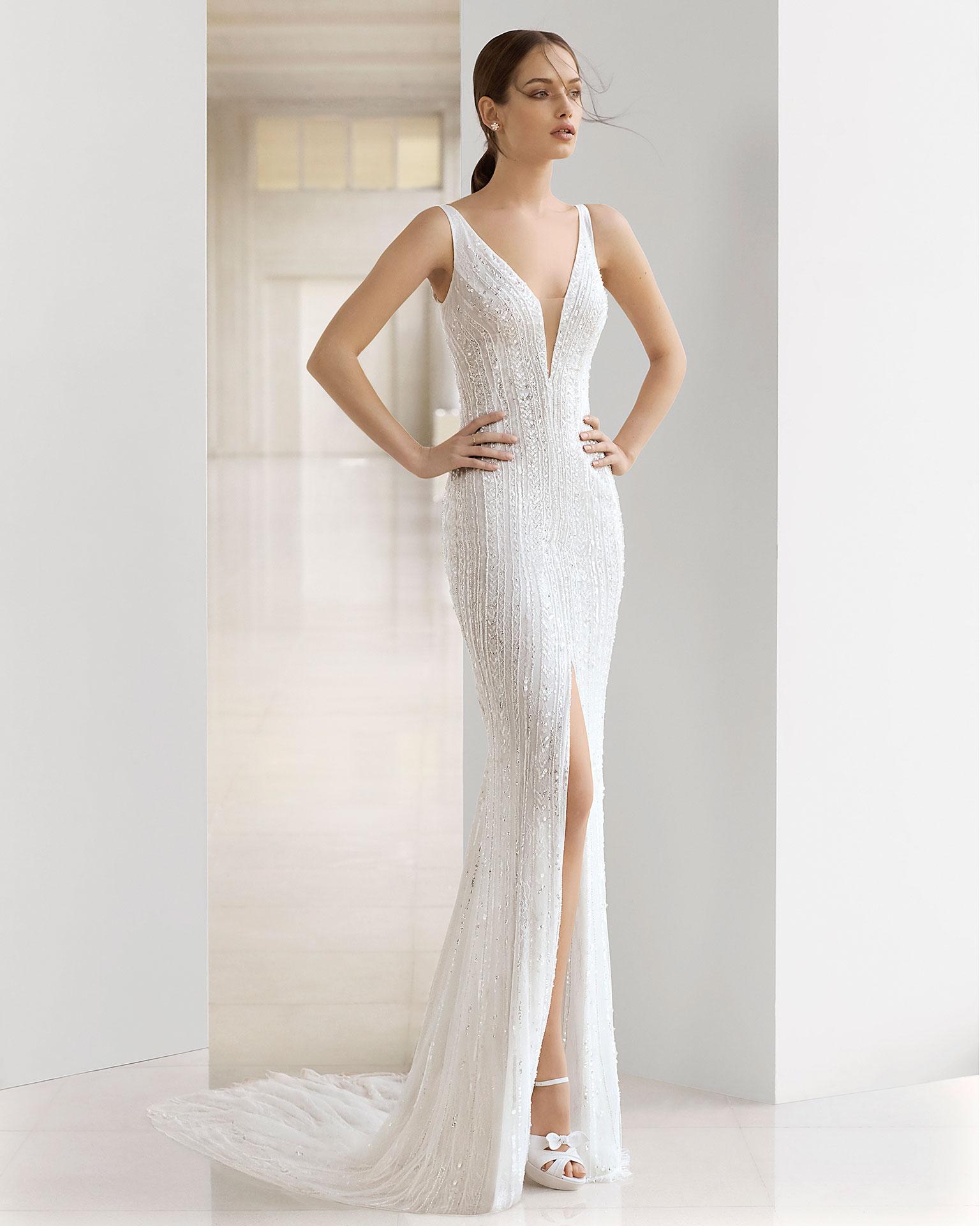 Vestidos de novia sexis 2019