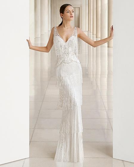 Rosa Clará | Vestidos de novia Recto o Columna