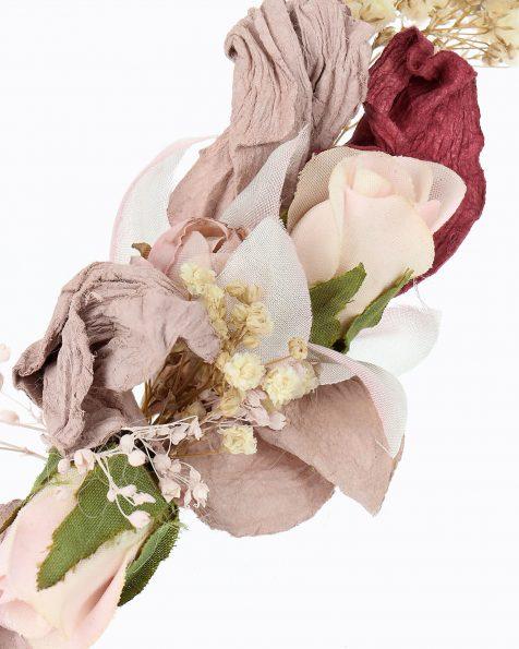 Diadema de noiva com pequenas flores naturais. Coleção ROSA CLARA COUTURE 2020.
