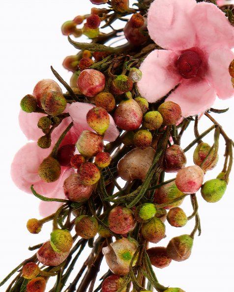 Braut-Haarstab, 2 Stk., mit Samenkörnern und Blättern. Kollektion ROSA CLARA COUTURE 2020.