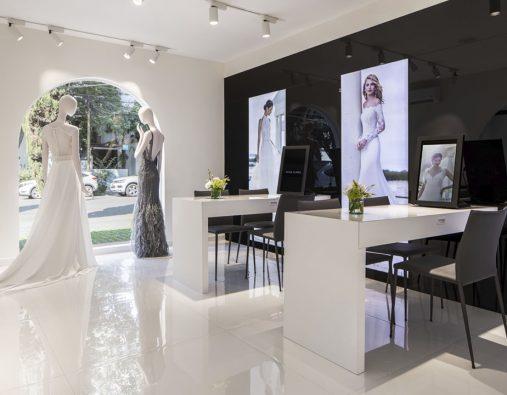 Rosa Clará's wedding and cocktail dresses arrive in México DF