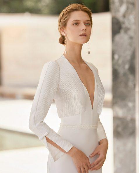 Brautjacke aus Amalfi. Kollektion ROSA CLARA COUTURE 2021.