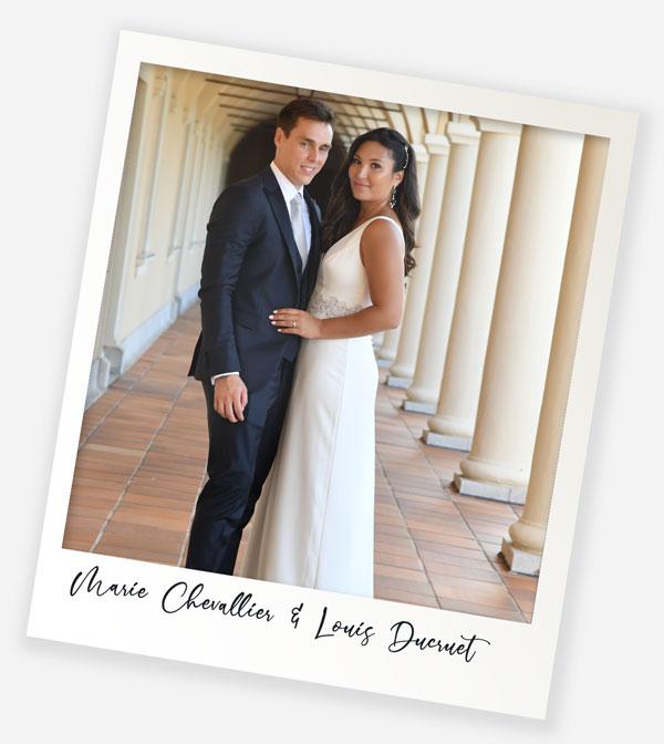 Marie Chevallier & Louis ducruet