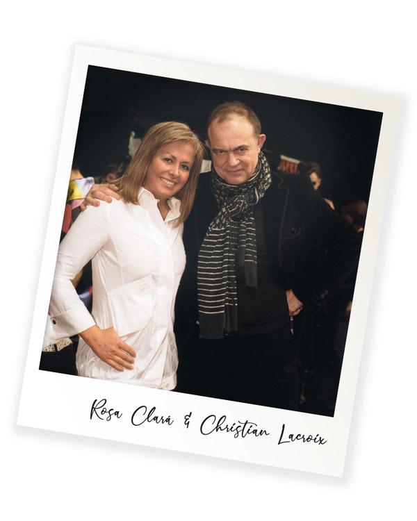 Rosa Clará Christian Lacroix