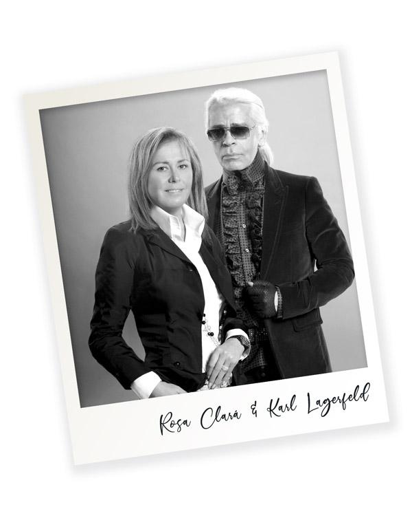 Rosa Clará Karl Lagerfeld